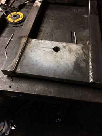 welding of frame