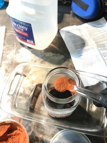 mixingofpowder